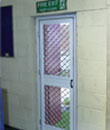 Fly Screen on Door