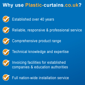 Why choose plastic-curtains.co.uk
