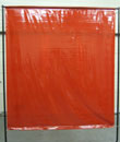 Red Mobile Welding Screen