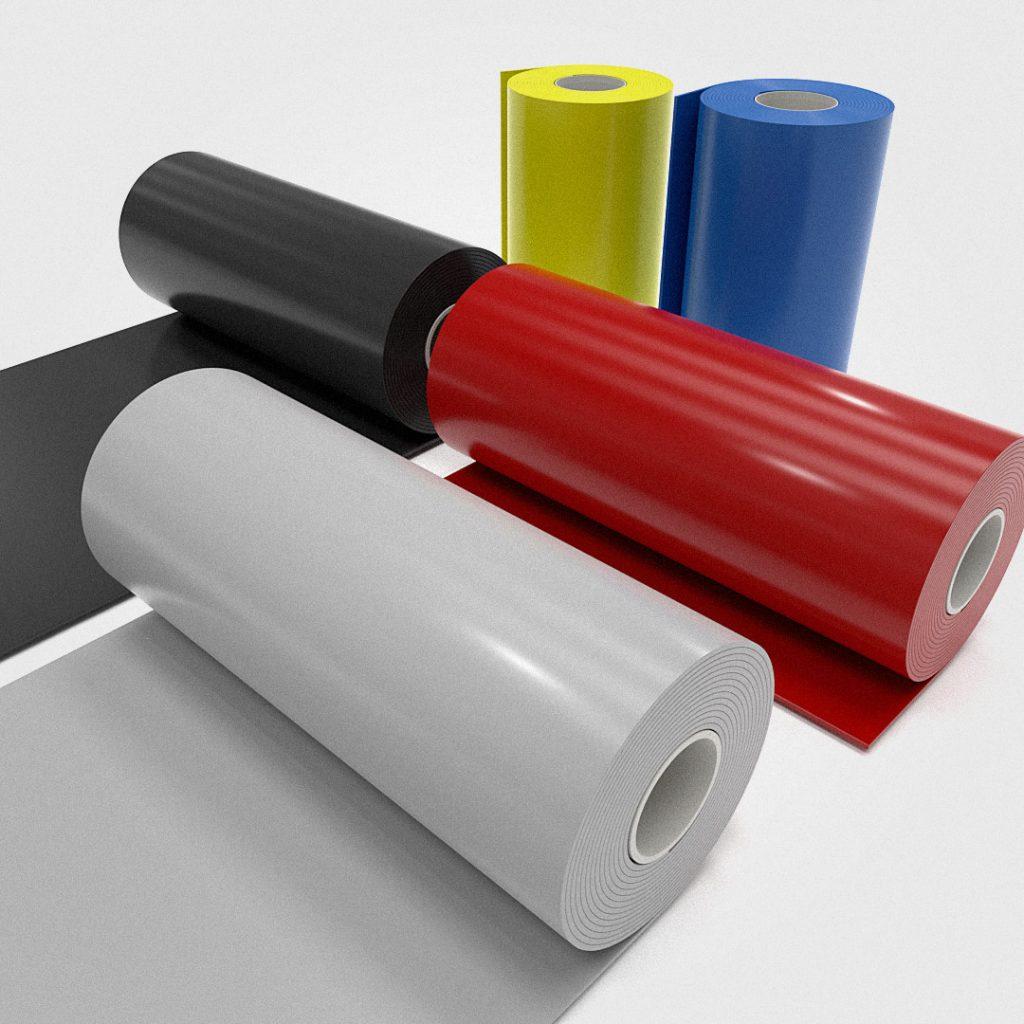 Coloured PVC Sheet