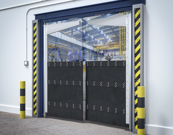 Heavy Duty PVC Crash Door