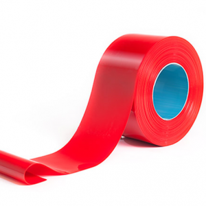 Opaque Red PVC