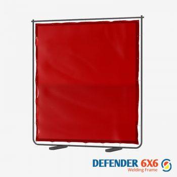 Defender 6 x 6 Red